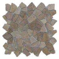 Mozaïek Y Yucatan Brown Marmer 30x30 cm (Prijs per 1m²)