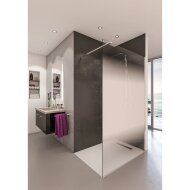 Inloopdouche BWS Free Time 90x200 cm Mist Glas Timeless Coating Chroom