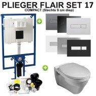 Plieger Flair Compact set17 Gustavsberg Saval