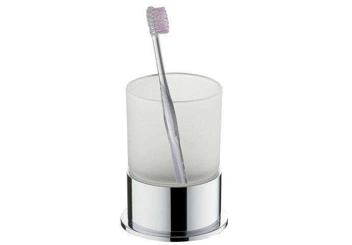 Ida vrijstaande tandenborstelhouder chroom (Accessoires)