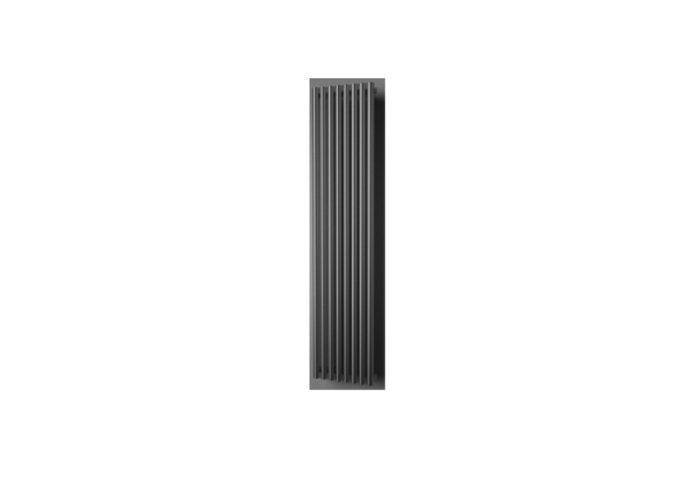 Designradiator Plieger Inox Melody 180x37 cm 861 Watt Inox-Look