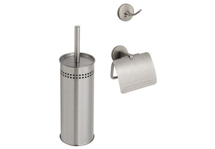 Complete Toiletset Start Inox (Accessoires)