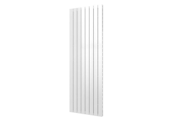 Designradiator Plieger Cavallino Retto Dubbel 1549 Watt Middenaansluiting 180x60,2 cm Mat Wit