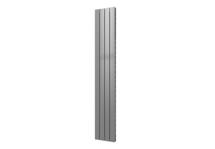 Designradiator Covallina Retta Dubbel 1800 x 298 mm Zilver Metallic