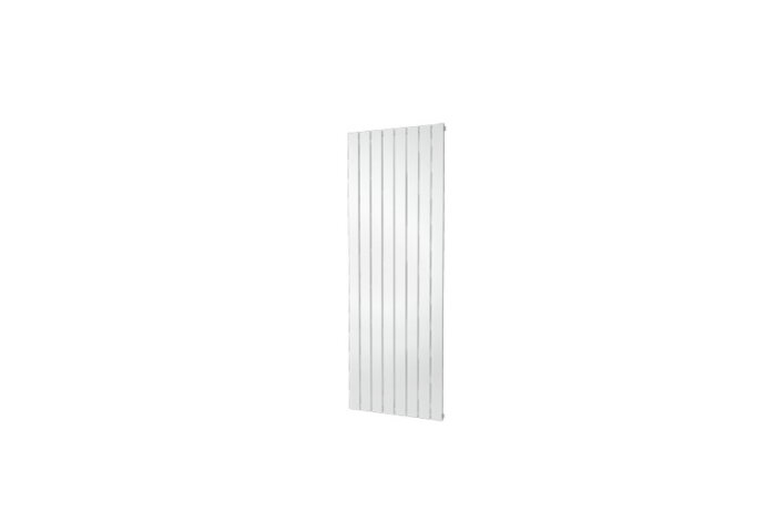 Designradiator Plieger Cavallino Retto Enkel 1205 Watt Middenaansluiting 180x60,2 cm Wit