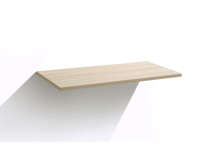 Badmeubel Top paneel Light Wood 80 cm x 47 cm