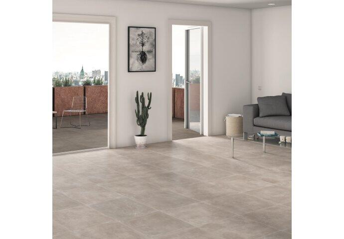 Wandtegel Alaplana Assen Grey Mate 25x40 cm (doosinhoud 1.60 m2)