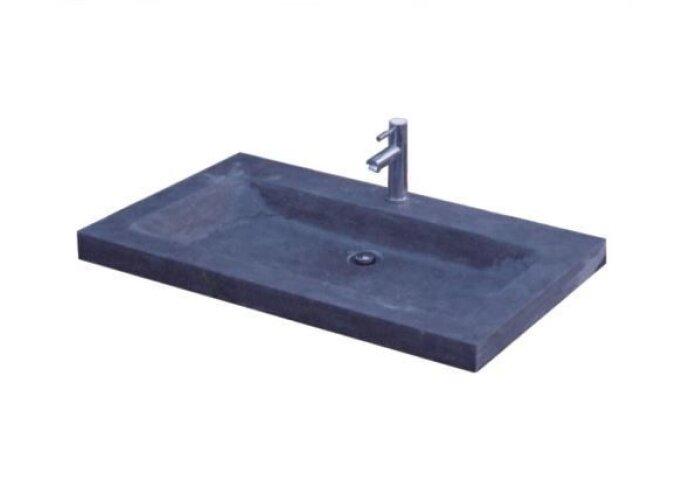 Wasblad Sanilux Trend Stone 80x47x5cm Natuursteen (met 1 kraangat)