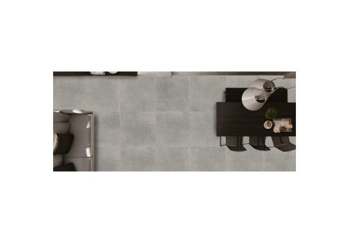 Vloertegel Flaminia Space Ash 90x90 cm (doosinhoud 1.62 m2)