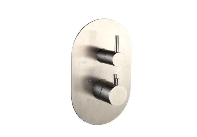 Thermostatische inbouwkraan Best Design ORE 3-weg RVS