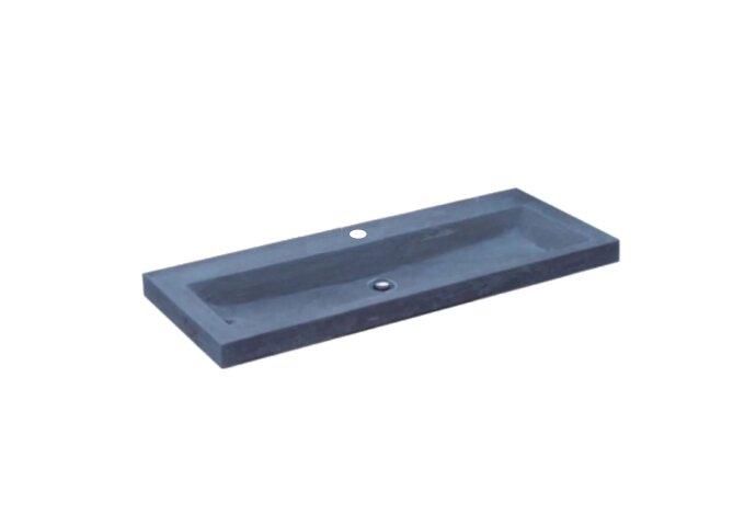 Wasblad Sanilux Compact Stone Hardsteen 80x38x5cm 1 Kraangat