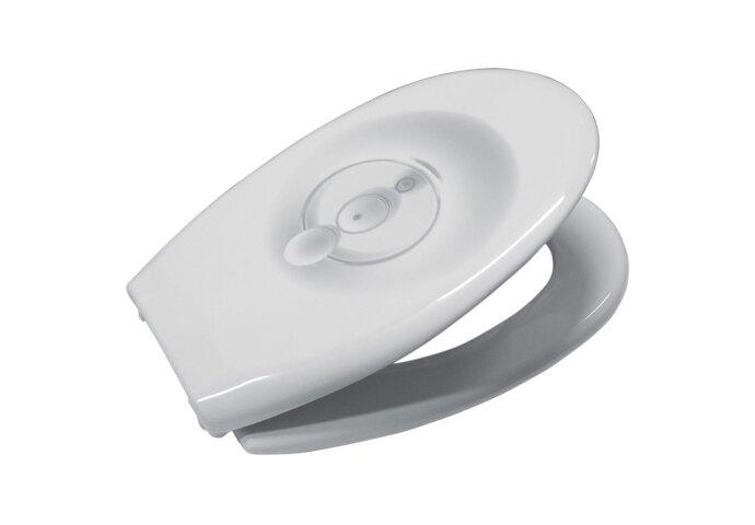 VM GO Raindrop white toiletzitting | Tegeldepot Zeewolde