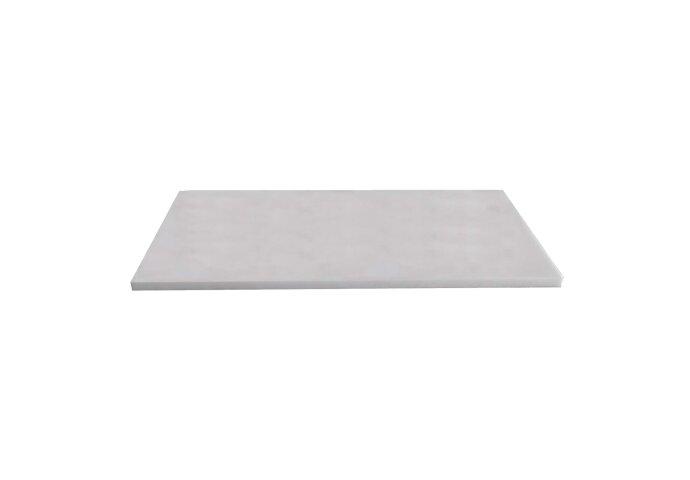 Wastafelblad Sanilux Marmer Natuursteen 120x47x3cm Wit 37120