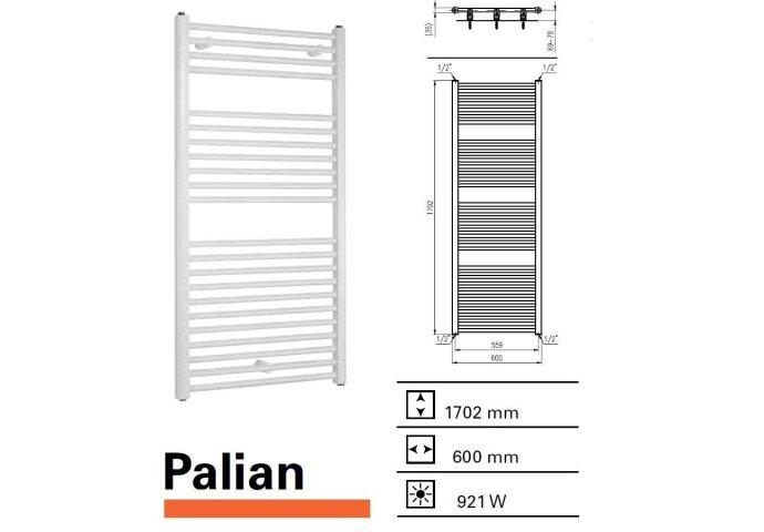 Handdoekradiator Boss & Wessing Palian 1702 x 600 mm