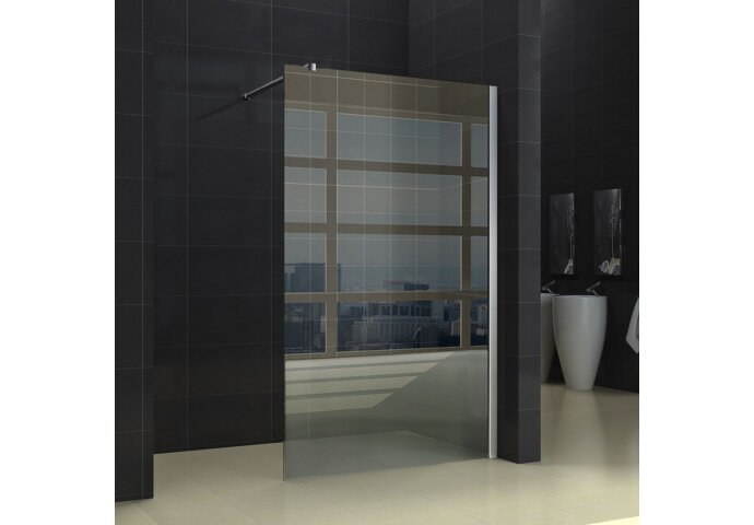 Douchewand Wiesbaden 60x200cm 10mm NANO coating