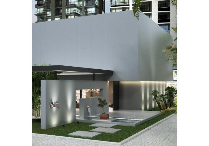 Vloertegel XL Etile Lead Mat 120x120 cm (1.44m² per Tegel)