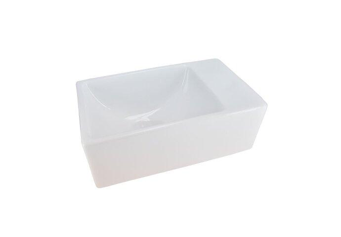 Fontein Rhea Mini XXS 30x18cm wit (zonder kraangat)