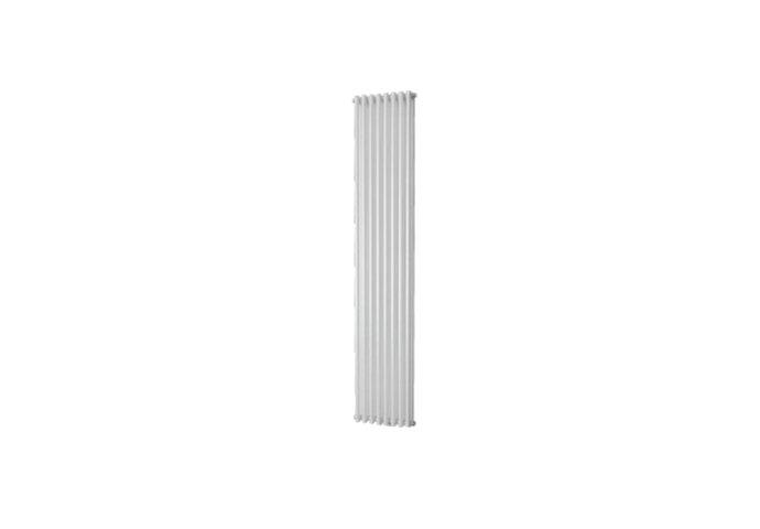 Handdoekradiator Vazia M Dubbel 1970 x 304 mm Donker grijs structuur