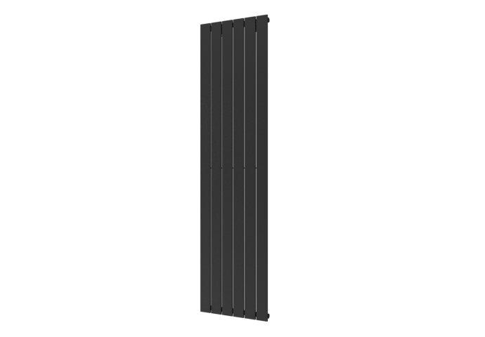 Handdoekradiator Covallina Retta Enkel 1800 x 450 mm Black Graphite