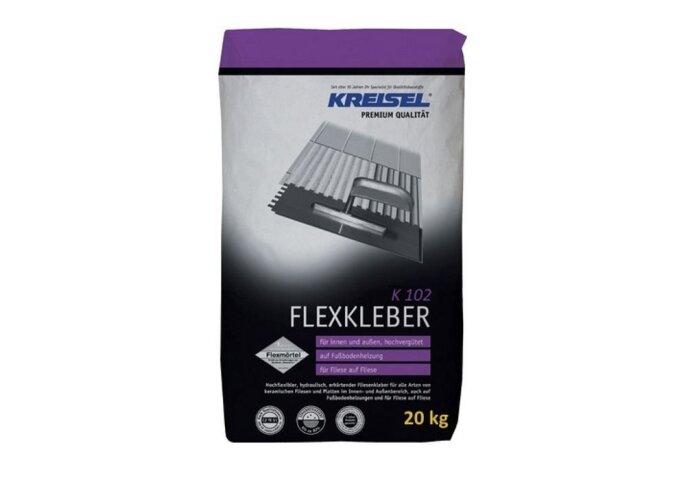 Kreisel Poederlijm flex voor wandtegels en vloertegels   K102 20 Kg