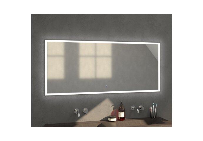 Badkamerspiegel met LED Verlichting Sanitop Edge 160x70x3 cm
