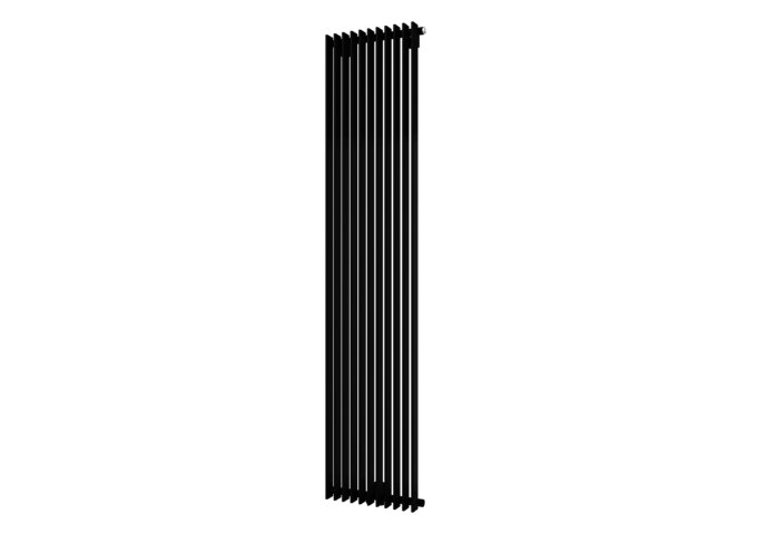 Designradiator Aika 1800 x 400 mm Zwart