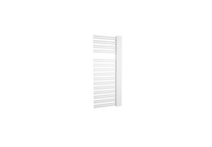 Designradiator Boss & Wessing Franto Sinistro 121 x 60 cm 690 Watt Buis Links Wit