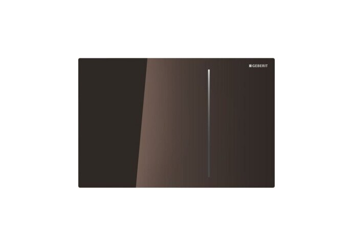 Bedieningsplaat Geberit Sigma 70 tav UP720 Glas Umbra/Aluminium