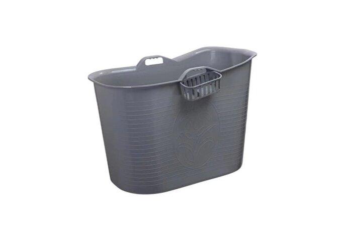 Zitbad Bath Bucket Voor Volwassenen Grijs 92x51x63cm Voor 200 Liter