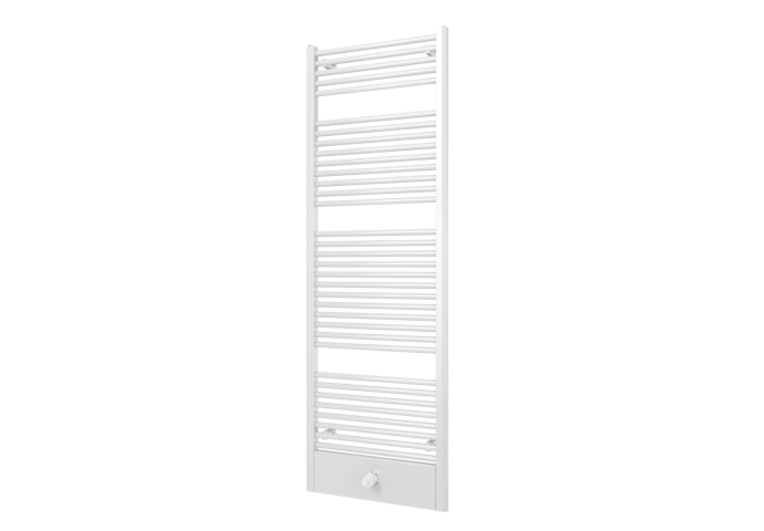 Designradiator Boss & Wessing Locco Middenaansluiting 177,5x60 cm 982 Watt Antraciet Metallic