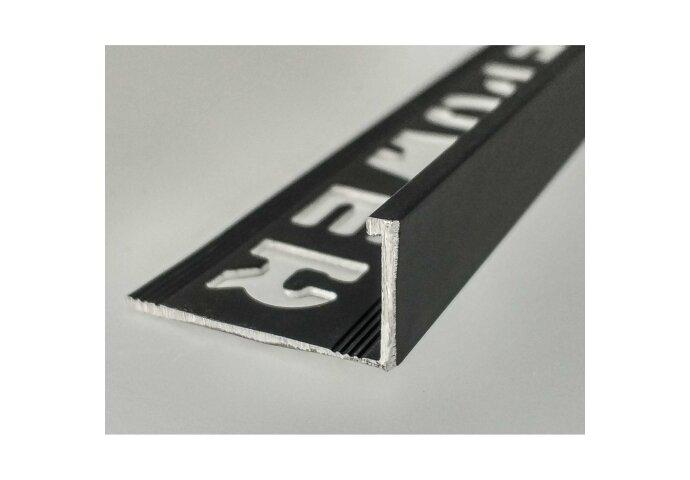 Tegelprofiel LYNOX 12,5x2700 mm Rechthoekig Gecoat Mat Zwart