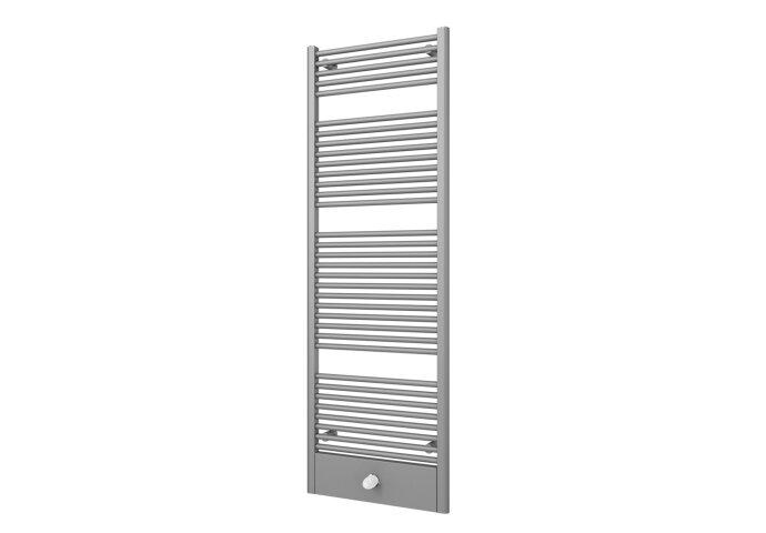 Designradiator Boss & Wessing Locco Middenaansluiting 177,5x60 cm 982 Watt Pearl Grey