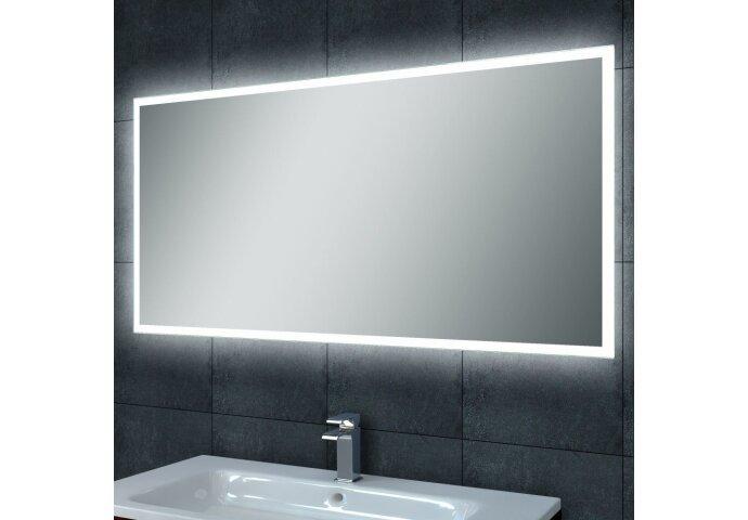 Spiegel Wiesbaden Quatro dimbare LED condensvrij 100x60cm