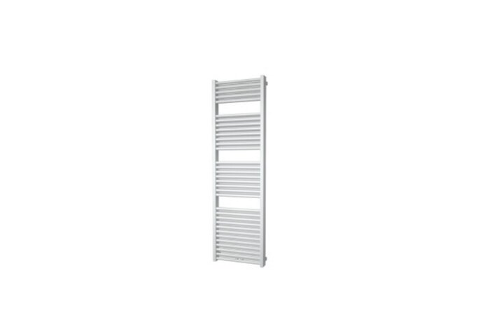 Designradiator Boss & Wessing Ifona 177x50 cm 1155 Watt Met Middenaansluiting Antraciet Metallic
