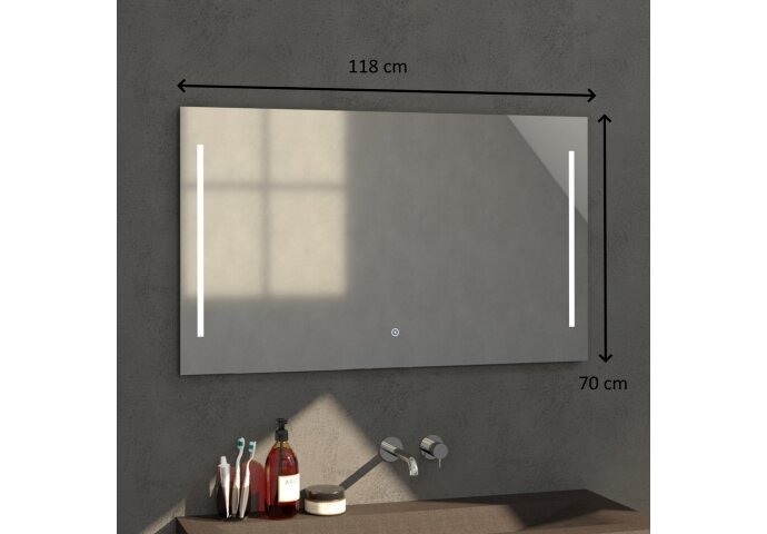 Spiegel 120 Deline (118x70cm)