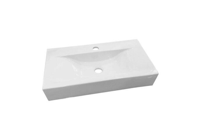 Wastafel Best Design Begee Rechthoek zonder overloop 59,5x32,5x11cm