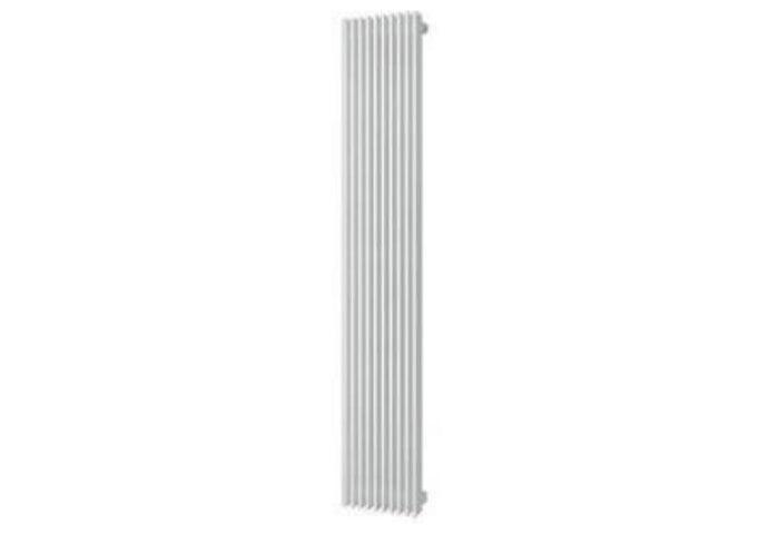 Handdoekradiator Aika Retta 1800 x 295 mm Zilver Metallic