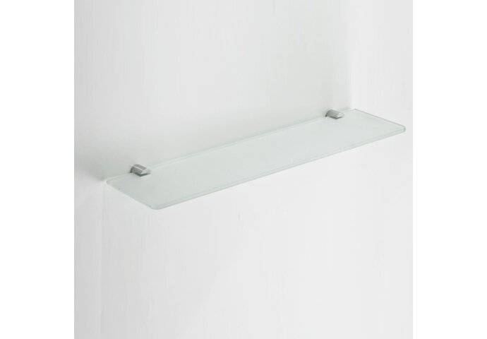 Ida glazen planchet chroom (Accessoires)