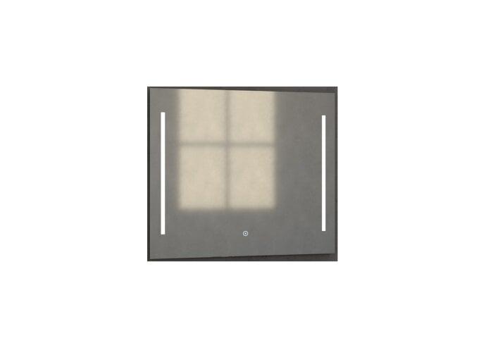 Badkamerspiegel met LED Verlichting Sanitop Deline 80x70x3 cm