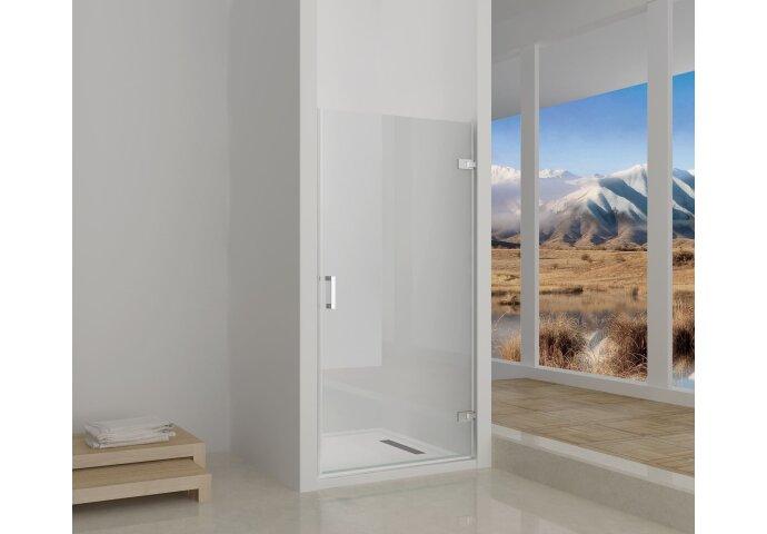 Nisdeur Sanilux zonder profiel 90 cm | badkamerdepot.be