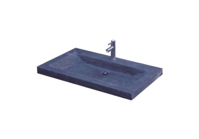 Wasblad Sanilux Trend Stone 100x47x5cm Natuursteen (met 1 kraangat)