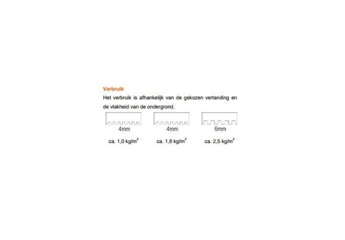 Coby Pastalijm DTA210 16 KG