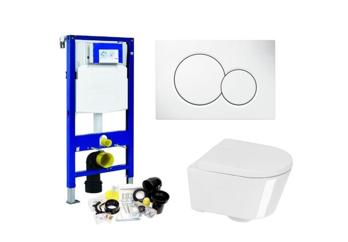 Geberit UP320 Toiletset set04 Boss & Wessing Calitri Urby met Sigma drukplaat