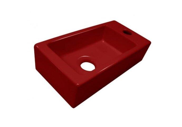 Luxe mini fontein keramiek Rood 37x18x9cm (Fonteinen)