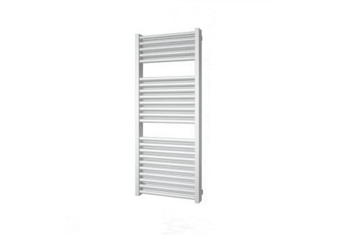 Designradiator Boss & Wessing Ifona 123x60 cm 943 Watt Met Zijaansluiting Antraciet Metallic
