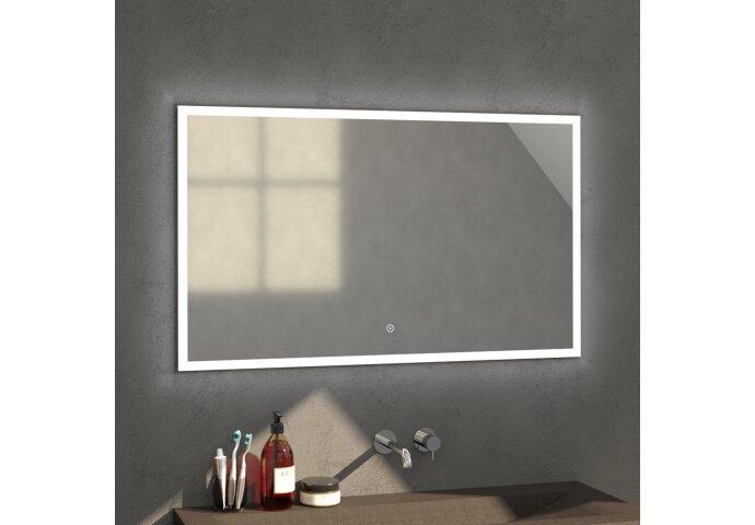 Badkamerspiegel met LED Verlichting Sanitop Edge 118x70x3 cm