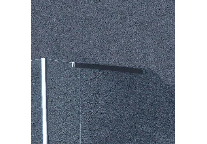 Losse vierkante Stabilisatiestang chroom 60cm.