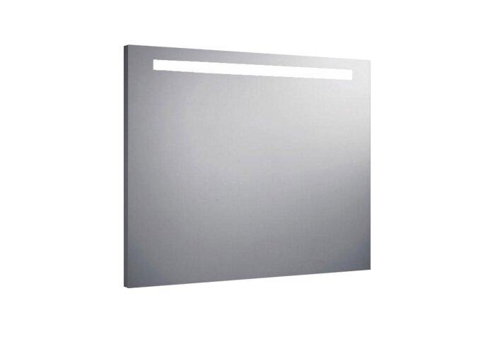 Aluminium Spiegel met TL Verlichting 90x70cm