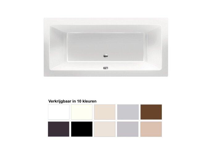 Ligbad Xenz Society 175x80x50 cm Inbouw Acryl (Verkrijgbaar in 10 kleuren)