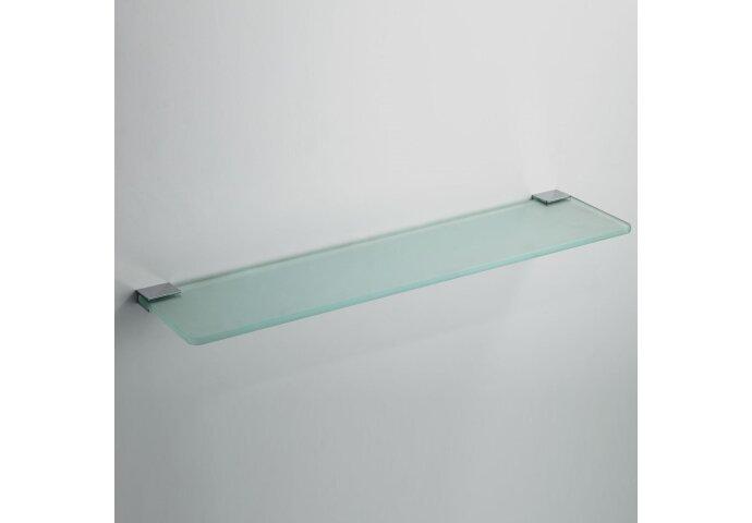 Eris glazen planchet chroom 50cm